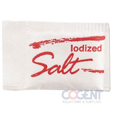 Salt Packets .75g 3/1000/cs MLK14609