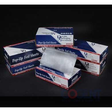 Foil Sheet 9x10.75 Green Stripe Interfold 500/bx 6bx/cs 3000/CS
