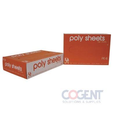 Poly Sheet HD Deli 10x10.75 Interfold  1000/bx  10bx/CS