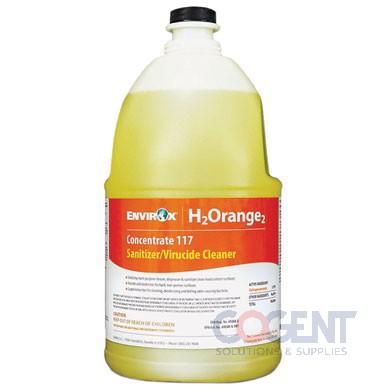 #117 H2Orange2 Cleaner 32oz Qt EnvirOx Sanit/Virucide 6/cs EVX