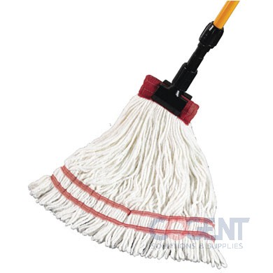 "Starborne Wet Mop Large White 5"" HB and Tailband Looped GST"