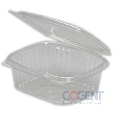 Deli Container Clear H/L 12oz 200/cs                  AD12