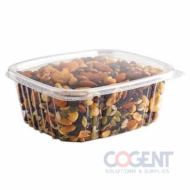 Deli Container Clear 32oz Shallow Lid 200/cs       AD32