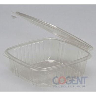 Deli Container Clear 48oz H/L Rect   200/cs            AD48