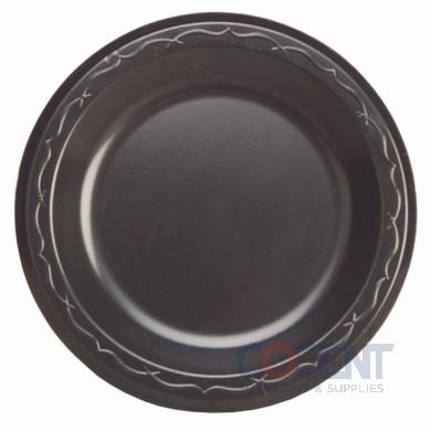 """Dinner Plate 9"""" White Foam Laminated 500/cs"""