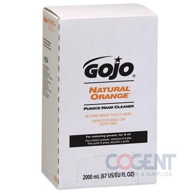 Gojo Orange w/pumice 4/2000ml/cs NSC68436    7255-04
