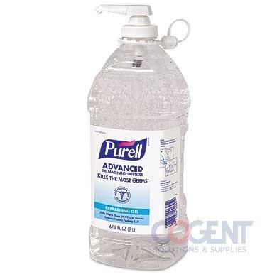 Purell Instant Hand Sanitizer Pump Btl 4/2Ltr/cs    9625-04