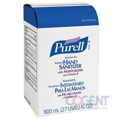 Purell Hand Sanitizer Instant 12/800ml/cs             9657-12