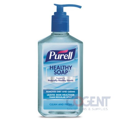 Lotion Soap Pump Bottle 12oz Purell Clean 12/cs 8101-12CMR01