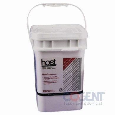 Host Extra Dry Carpet Cleaner 12lbs Pail 4/CS 412H HST