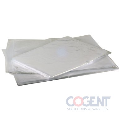 Poly Prop Bag 8x4x18 1.3 mil Clear 1m/cs