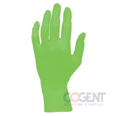 Glove Nitrile PF Medium 6mil Neon Green 1m/cs     GL-NG107FM