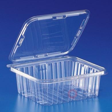 Safe-T-Fresh 64oz Clear Tamper Resistant Cont. 150/cs  TS64