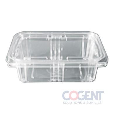Safe-T-Fresh 24oz Clear Tamper Resistant Cont. 200/cs  TS24