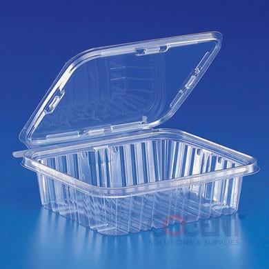 Cont Safe-T-Fresh 48oz Clear TE 150/cs  25/plt            TS48