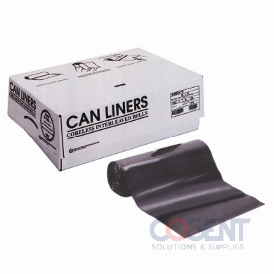 Can Liner 33x40 16mic Nat HD 33gal 250/cs S334016N       INT