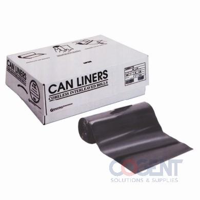 Can Liner 38x60 17mic Nat HD 60gal 200/cs S386017N       INT