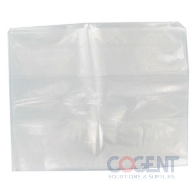 Poly Bag 8x4x18 1.25mil Clear Gusset 1m/cs 125GU080040180 SIU