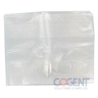 Poly Bag 10x8x24 2mil Clear 500/cs