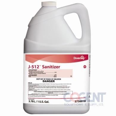 J-512 Sanitizer 1Gal   4/cs   5756018