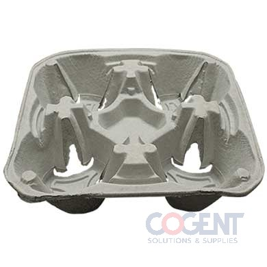 4 Cup Carrier 8-32oz Kft Fiber 6/75/cs C5000         LOL
