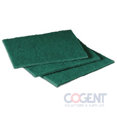 3M #96 Commercial Scouring Pad, 6 x 9, 60/Case ESS