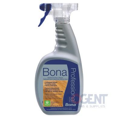Bona Hardwood Floor Spray 32oz RTU Cleaner 8-1qt/cs 221123