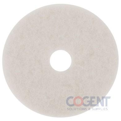 "Super Polish Floor Pad 20"" White  5/cs       4100"