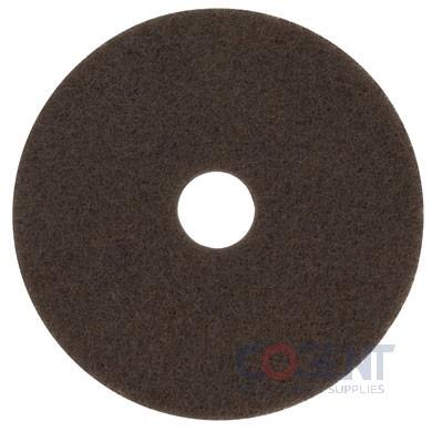 "20""Low-Speed High Productivity Floor Pad 7100 BROWN 5/cs  7100"