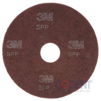 "Surface Preparation Pad 20"" Maroon  10/Carton    SPP20"