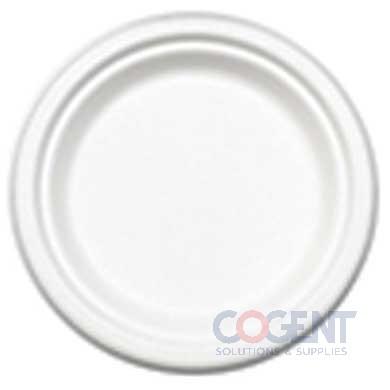 "Plate 6"" PrimeWare Bagasse HD Molded Fiber 1m/cs 48/Plt PL-06"