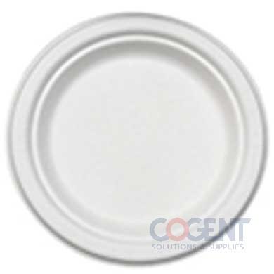 "Plate 7"" PrimeWare Bagasse HD Molded Fiber 1m/cs 48/Plt PL-07"
