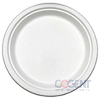 "Plate 9"" PrimeWare Bagasse HD Molded Fiber 500/cs PL-09"