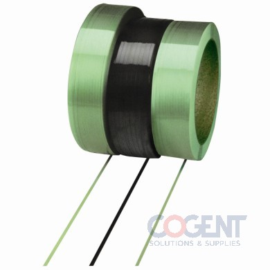 "Polyester Strap .41""10500'.021* 500# 16x6 Green Machine 1cl/cs"