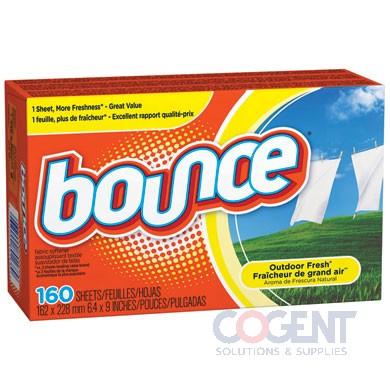 Bounce fabric softener 6/160/cs 80168