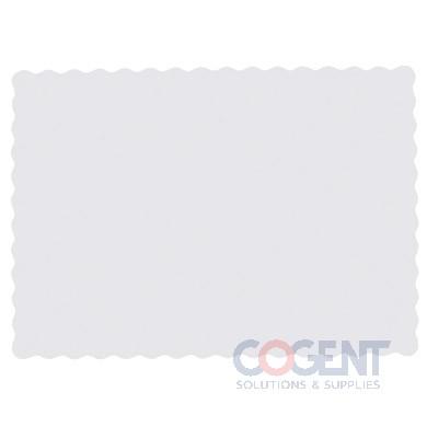 Scalloped Doilie 1/2 Sht Wht Veg Parchment 4/250/cs       PA