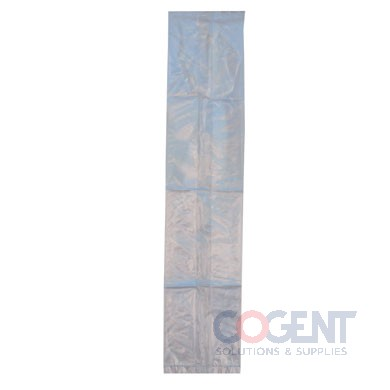 Poly Bag 10x8x24 1.5mil LD Clear w/EVA Metallocene 500/cs