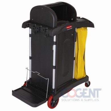 High-Security Healthcare Cart Commercial Black  9T75