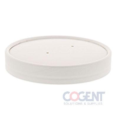 Food Cont Lid 32oz Wht Vented 20/25/cs CL32W               RP