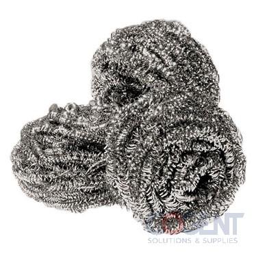 Sponge/Scrubber Stainless Steel 35gm 12/pk 12pk/cs 144/cs