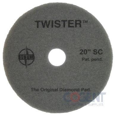 "Floor Pad 15"" Red 400 Grit Twister 2ea/cs 435215       AMG"
