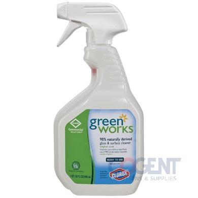 GreenWorks Glass & Surface Clnr W/Smart Tube Spray 12/32oz  ESS