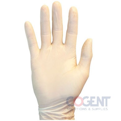 Gloves White Large Nitrile Powder Free 10/100/cs SAF