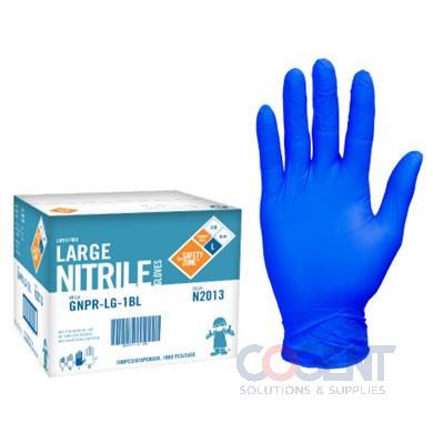 Gloves XL Nitrile Super Stretch 10/100/cs SAF