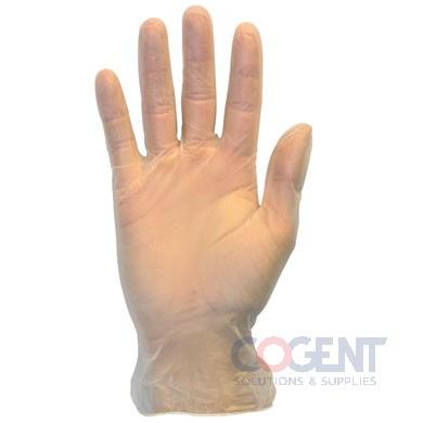 Gloves Large Vinyl Powder Free 10/100/cs SAF