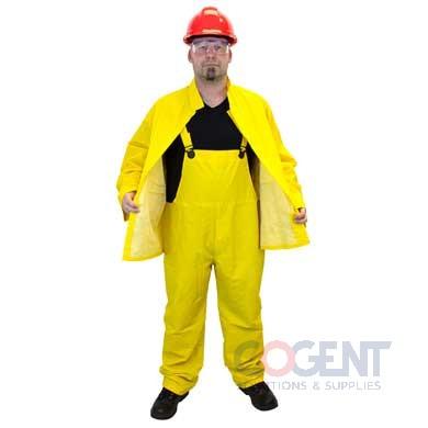 Rainsuit Yellow Large 35mil 3 piece SAF