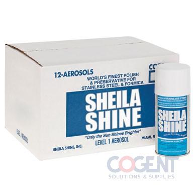 10 oz Sheila Shine Steel Cleaner Aerosol ESS