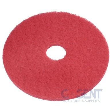 "Red Buffing Pad 14"" 5pad/cs   404414    AMMFG"