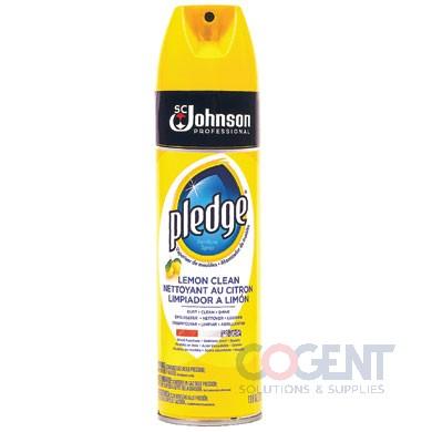Pledge lemon furniture polish aerosol 6/13.8oz/cs 682275