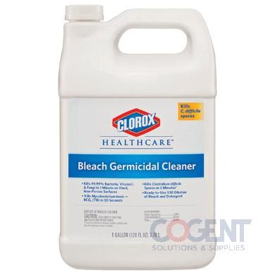 Germicidal Bleach 128oz Refill Clorox 4/cs 68978